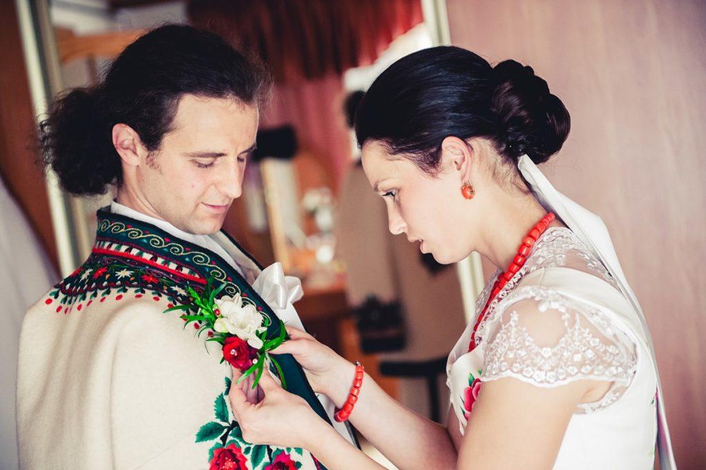 Góralskie wesele przygotowania