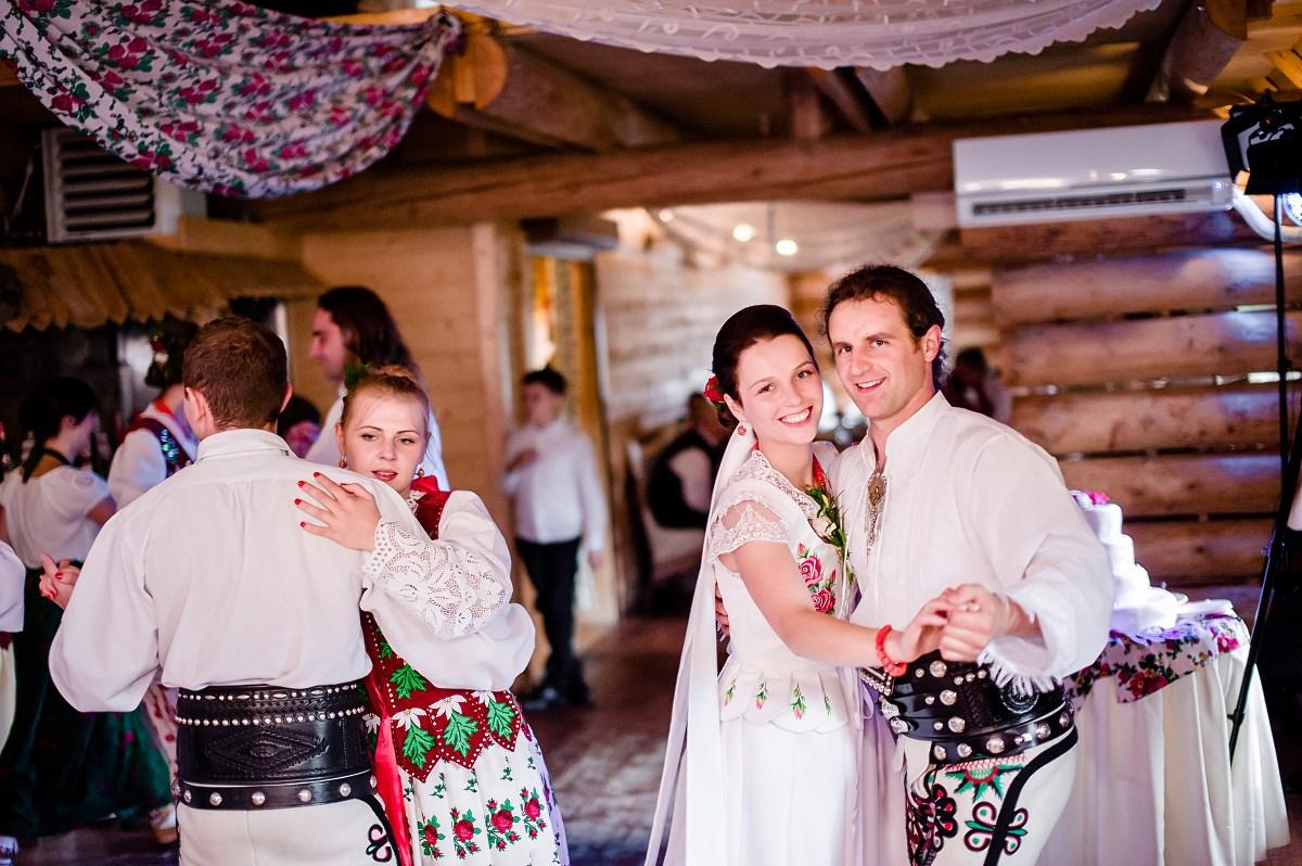 Góralskie wesele w Cichem Maria i Krzysztof