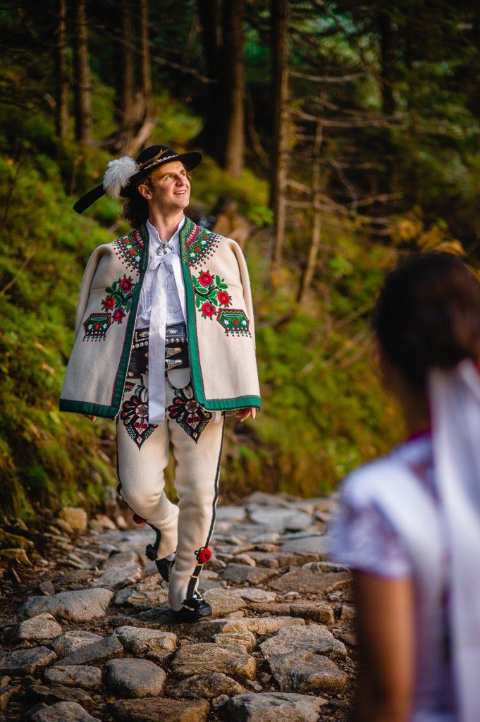 Plener ślubny Tatry Morskie Oko