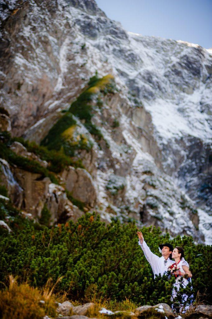 Morskie Oko plener ślubny