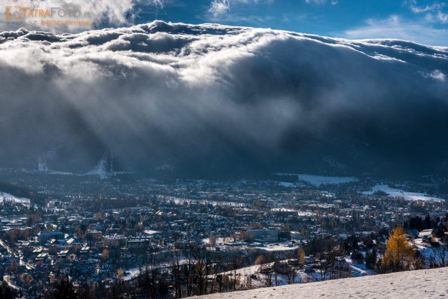 Halny w Tatrach – wieje na Podhalu
