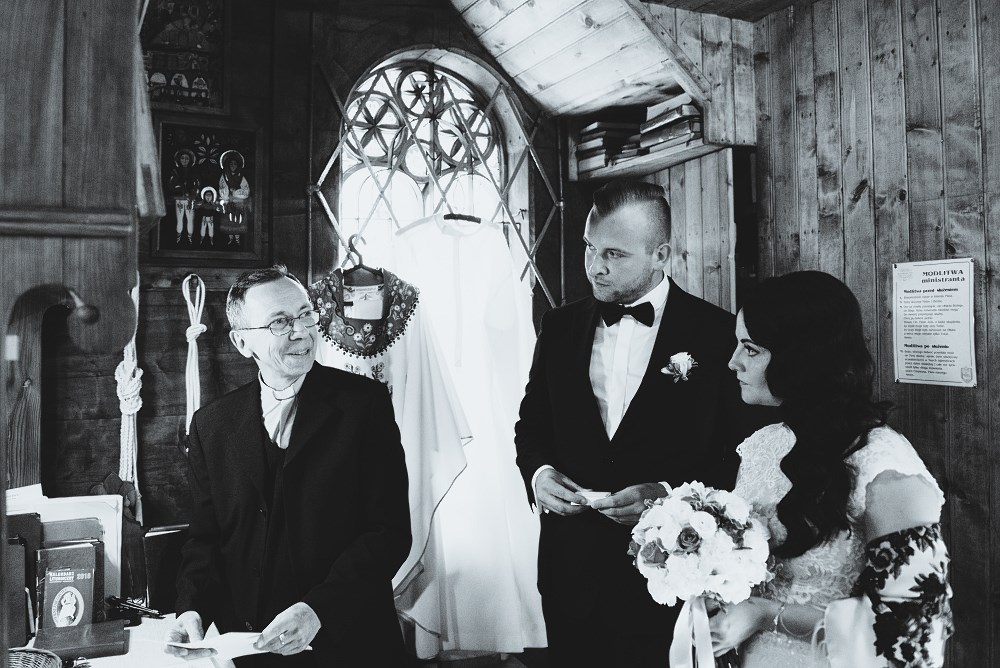 Anna i Adam Zakopane ślub i plener