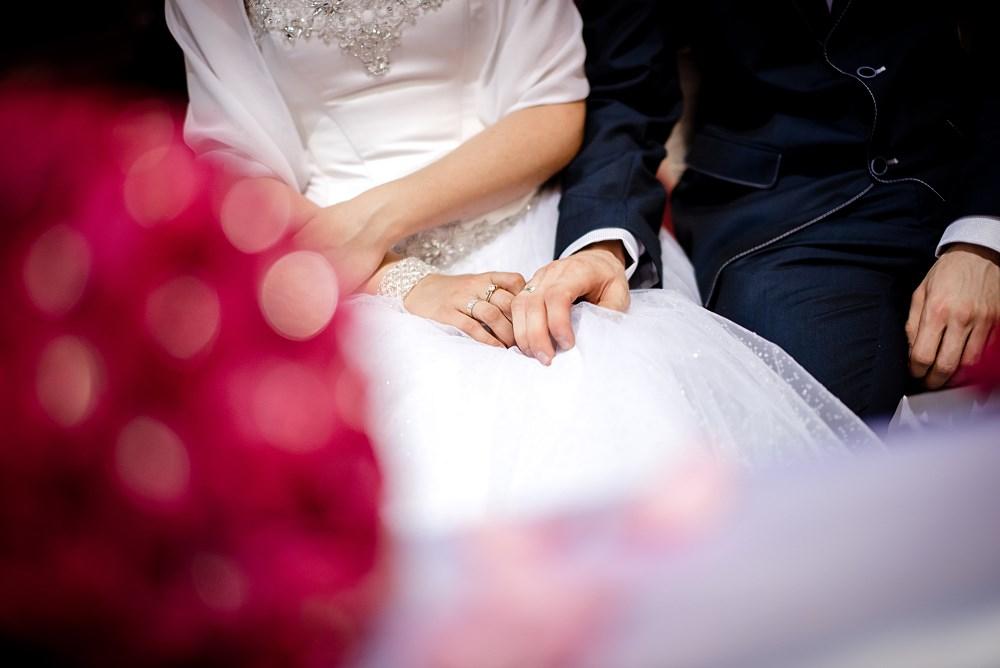 Fotografie z ceremonii ślubnych -21