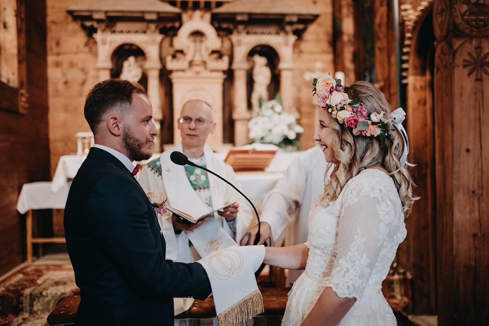 Ślub w Kaplicy na Jaszczurówce