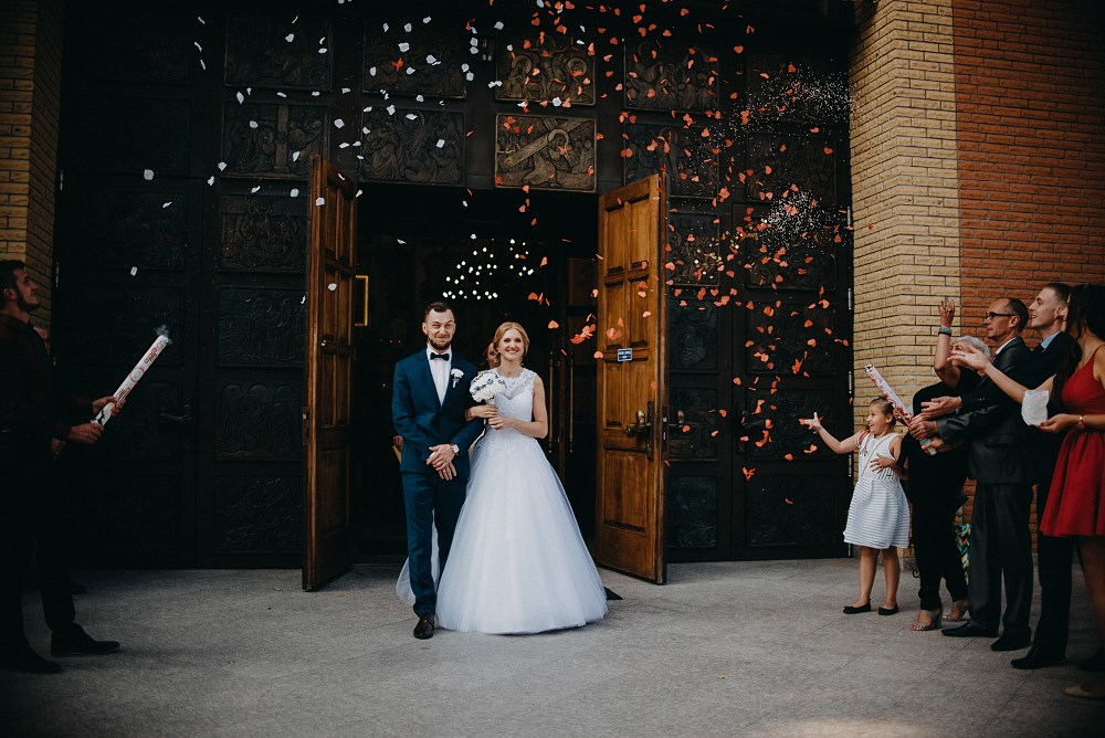 Anna & Krzysztof – Ślub w Tokarni i wesele w Dworku Fantazja