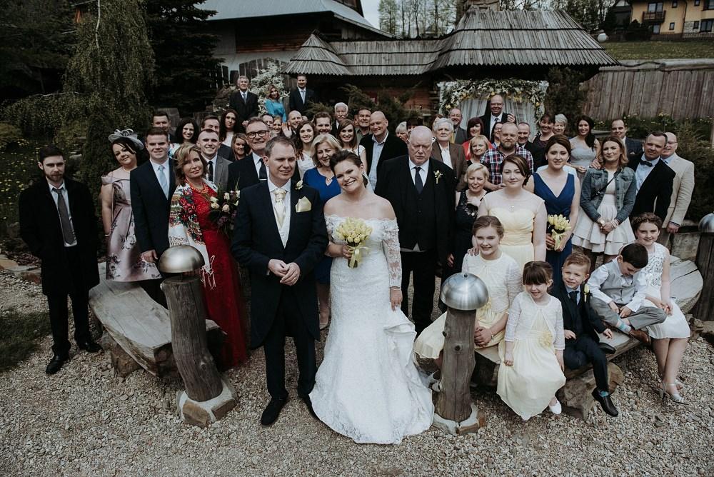 ślub i wesele góralski dwór kościelisko 32