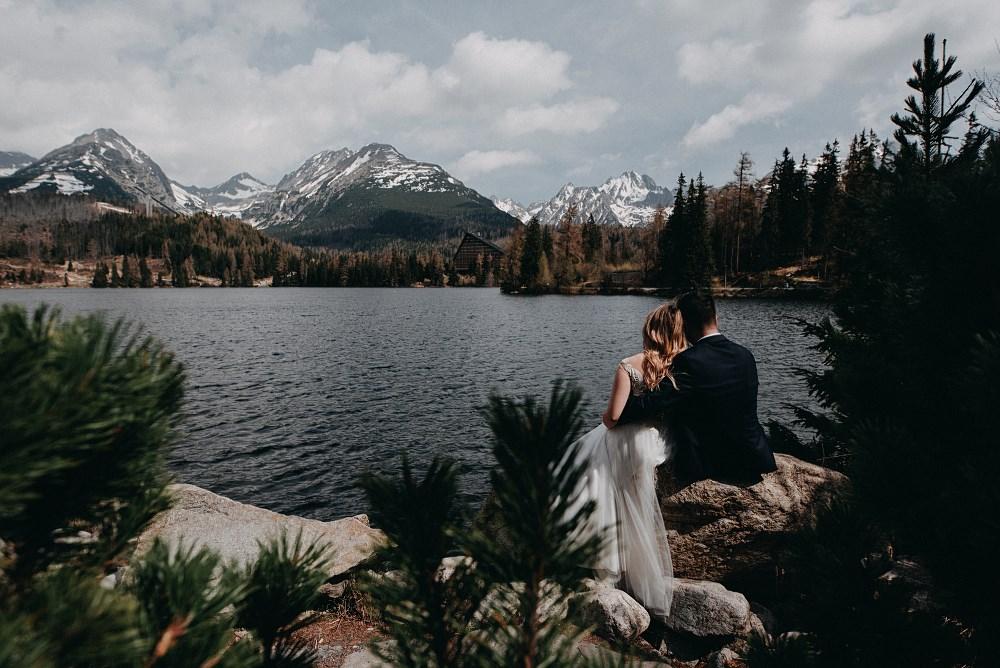 Aneta & Szymon – Wesele Willa Orchidea i plener Szczyrbskie Jezioro