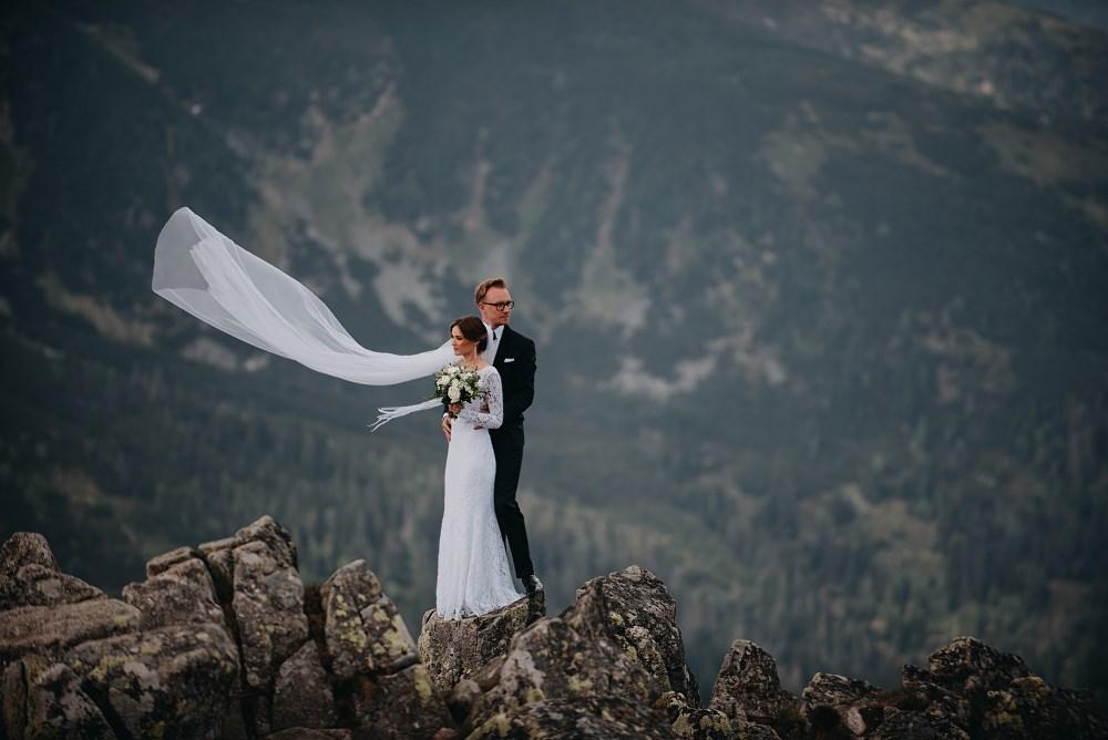 Sesja ślubna w tatrach Kasprowy Wierch