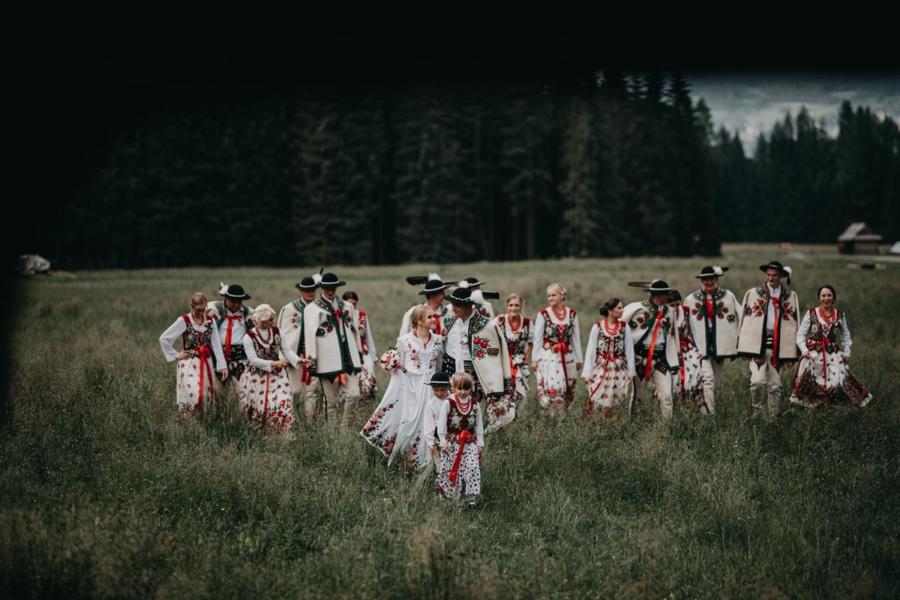 Tradycyjne góralskie wesele – Ewa i Marek