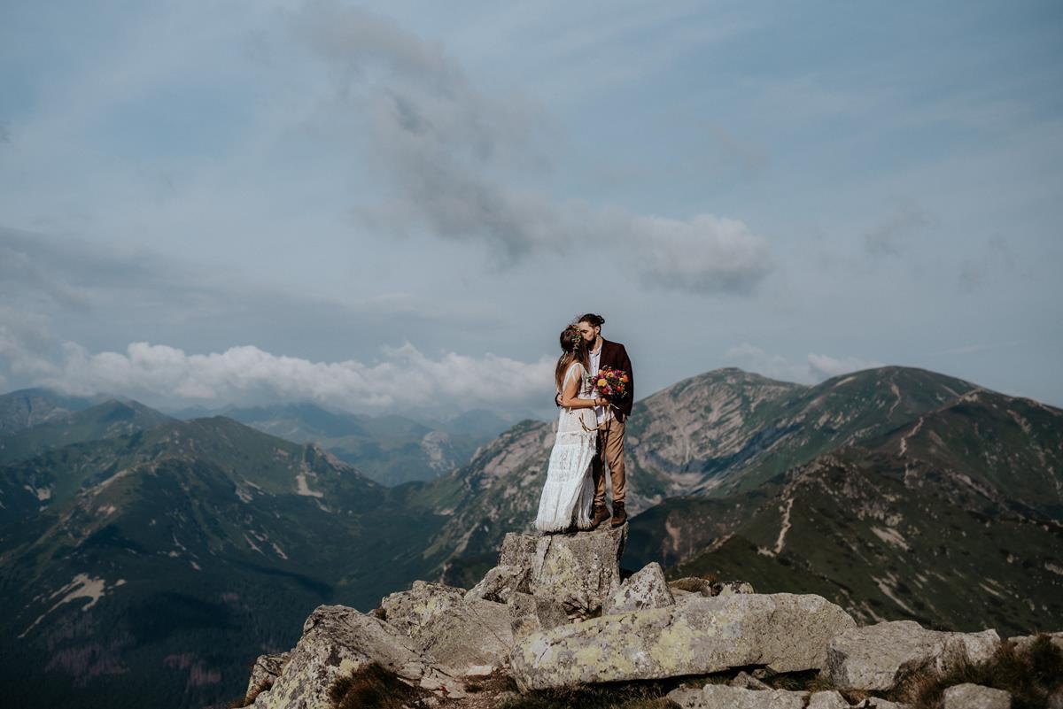 Magiczna sesja na Kasprowym Wierchu – Natalia i Artur