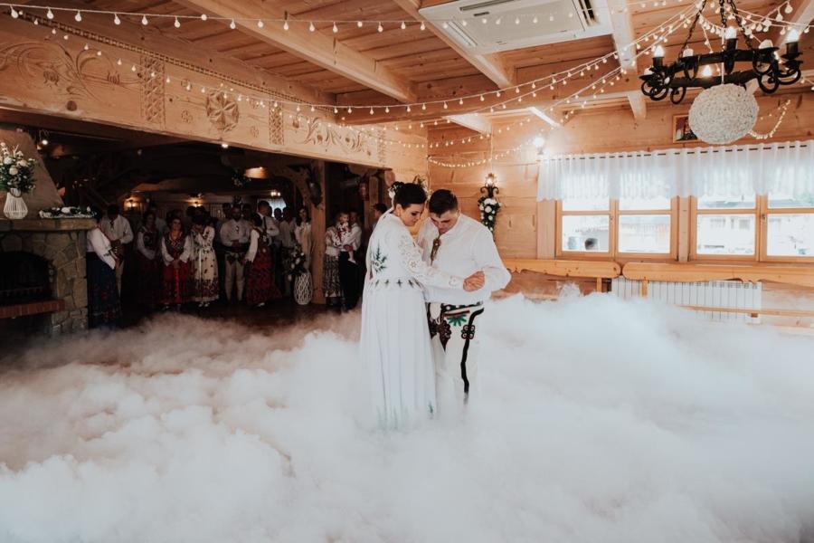 Góralskie wesele u podnóża Tatr – Anna i Maciej
