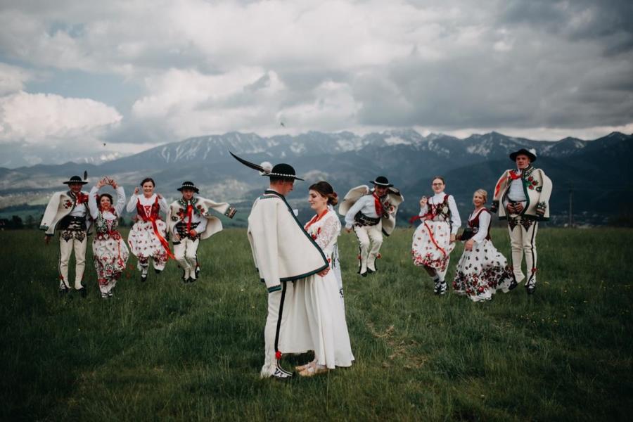 góralskie wesele w górach – Klaudia & Krzysztof