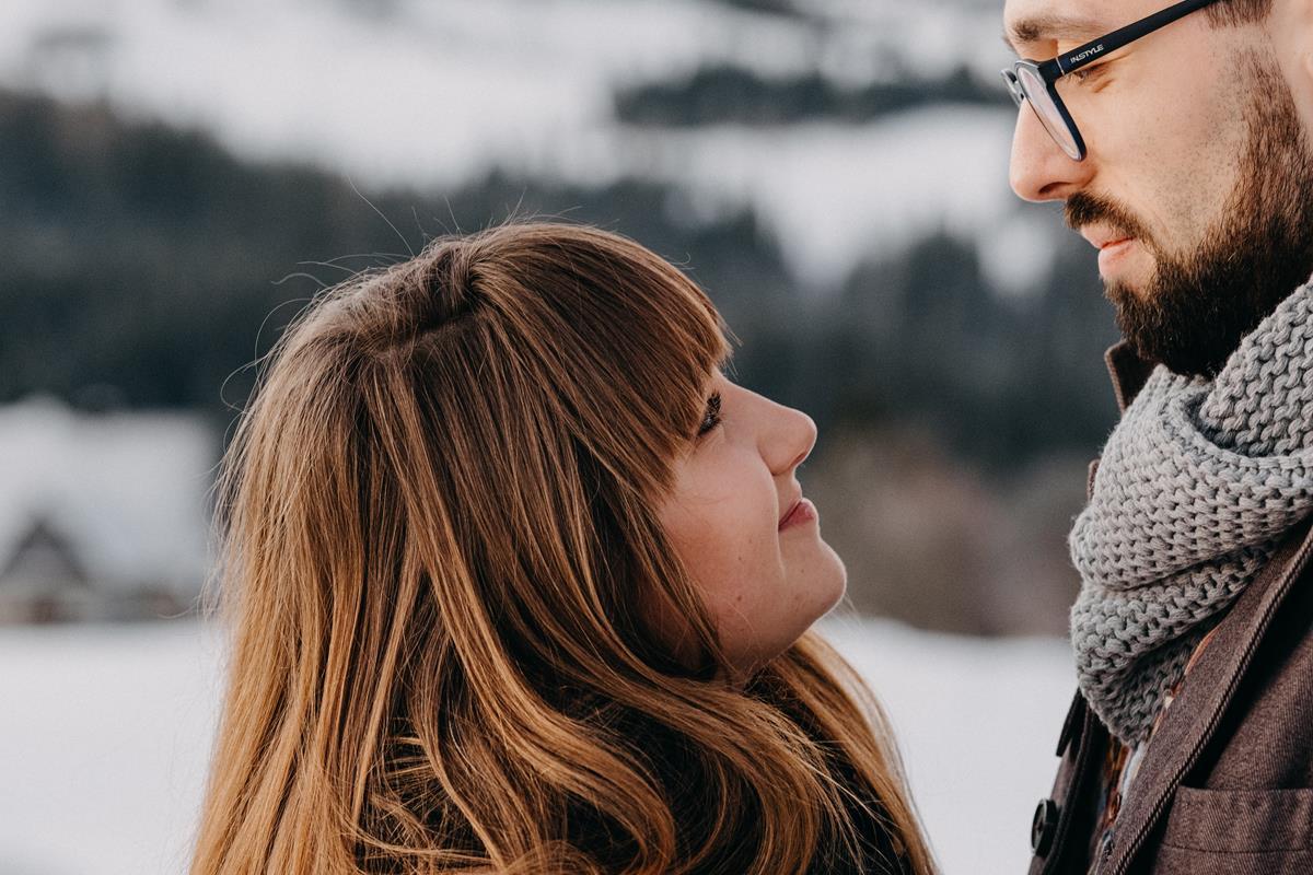 Sesja zaręczynowa w górach zimą14
