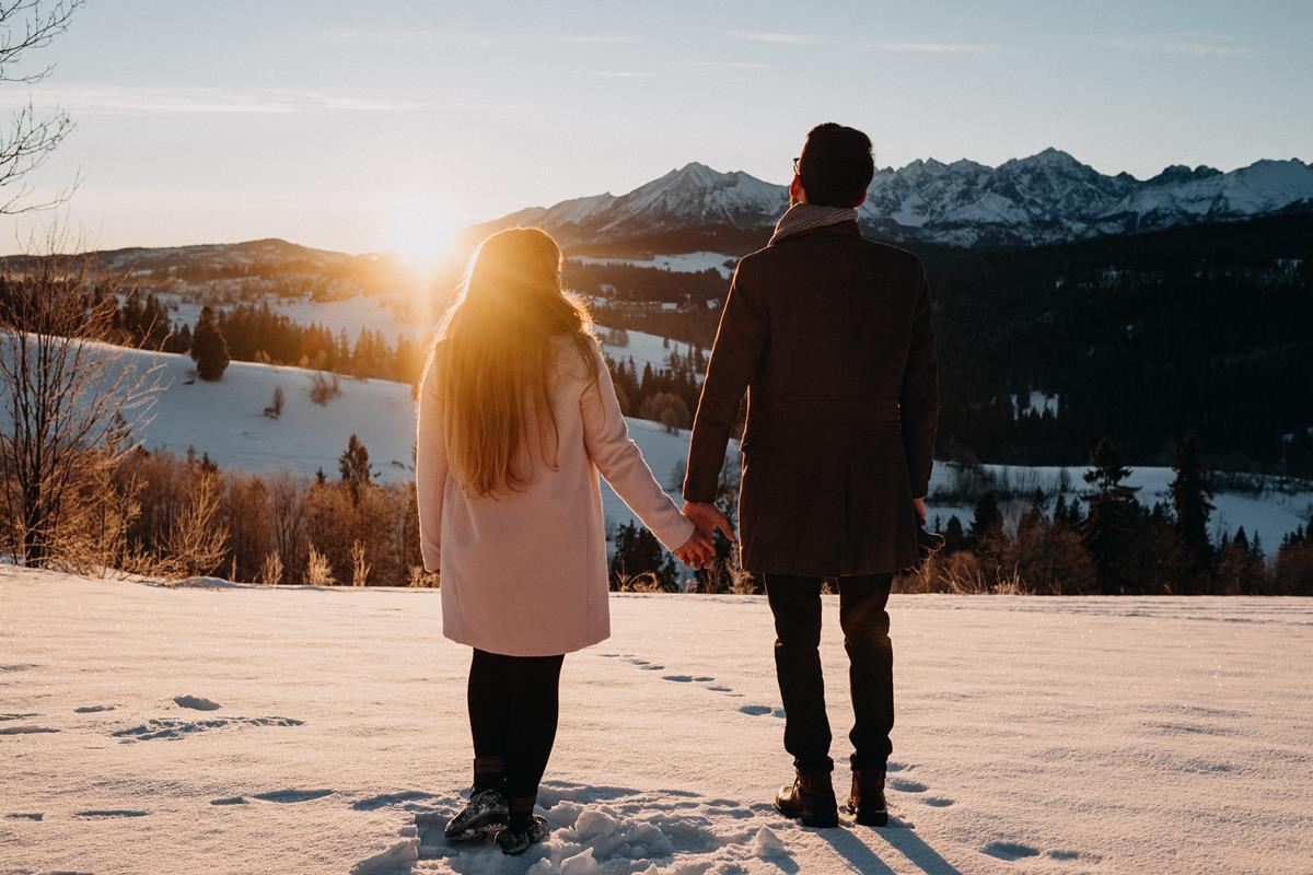 Sesja zaręczynowa w górach zimą24