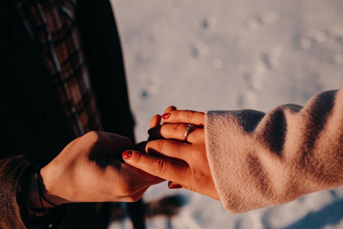 Sesja zaręczynowa w górach zimą26