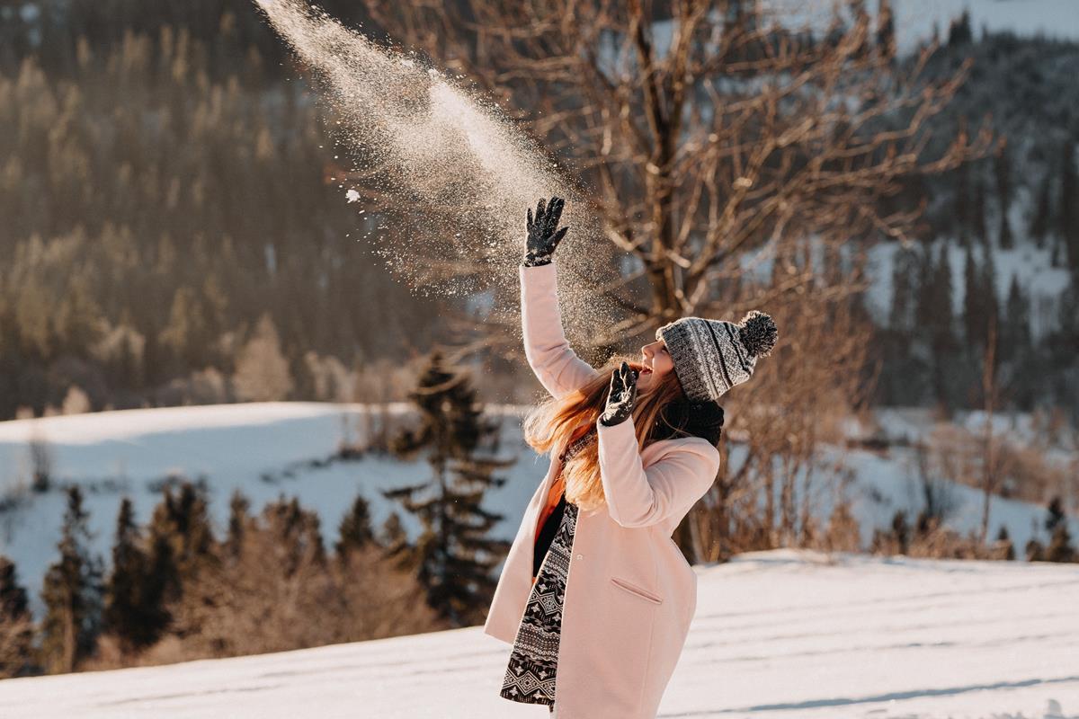 Sesja zaręczynowa w górach zimą43