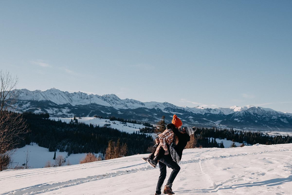 Sesja zaręczynowa w górach zimą47