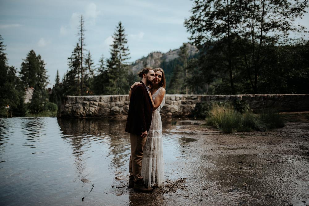 o sesji ślubnej w górach