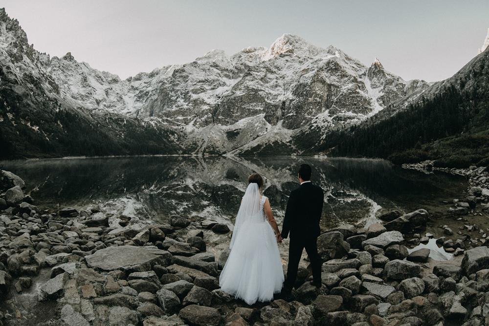o sesji ślubnej w górach77