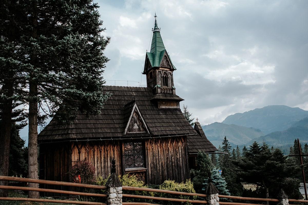Ślub w kaplicy na Płazówce