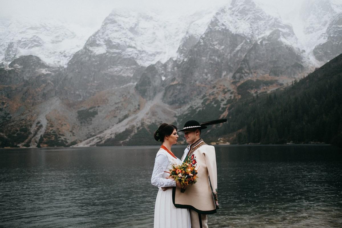 Sesja ślubna Morskie Oko