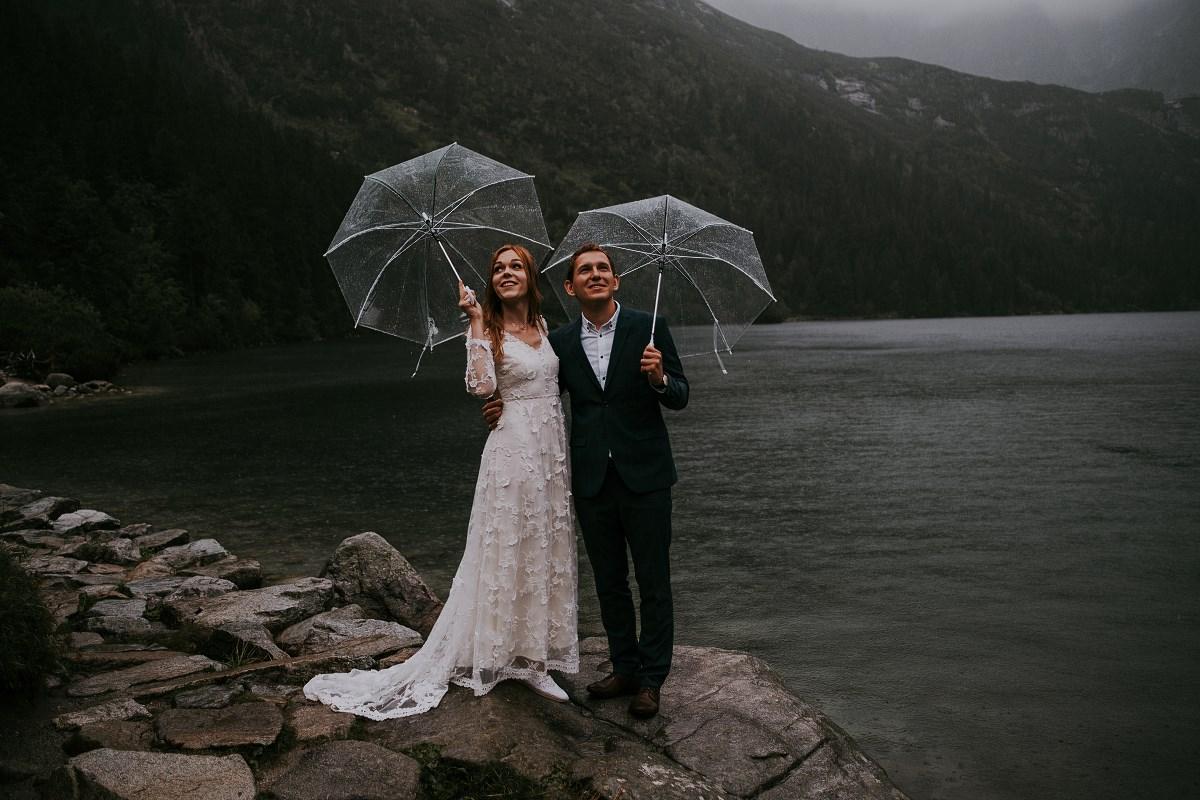 Ślub nad Morskim Okiem