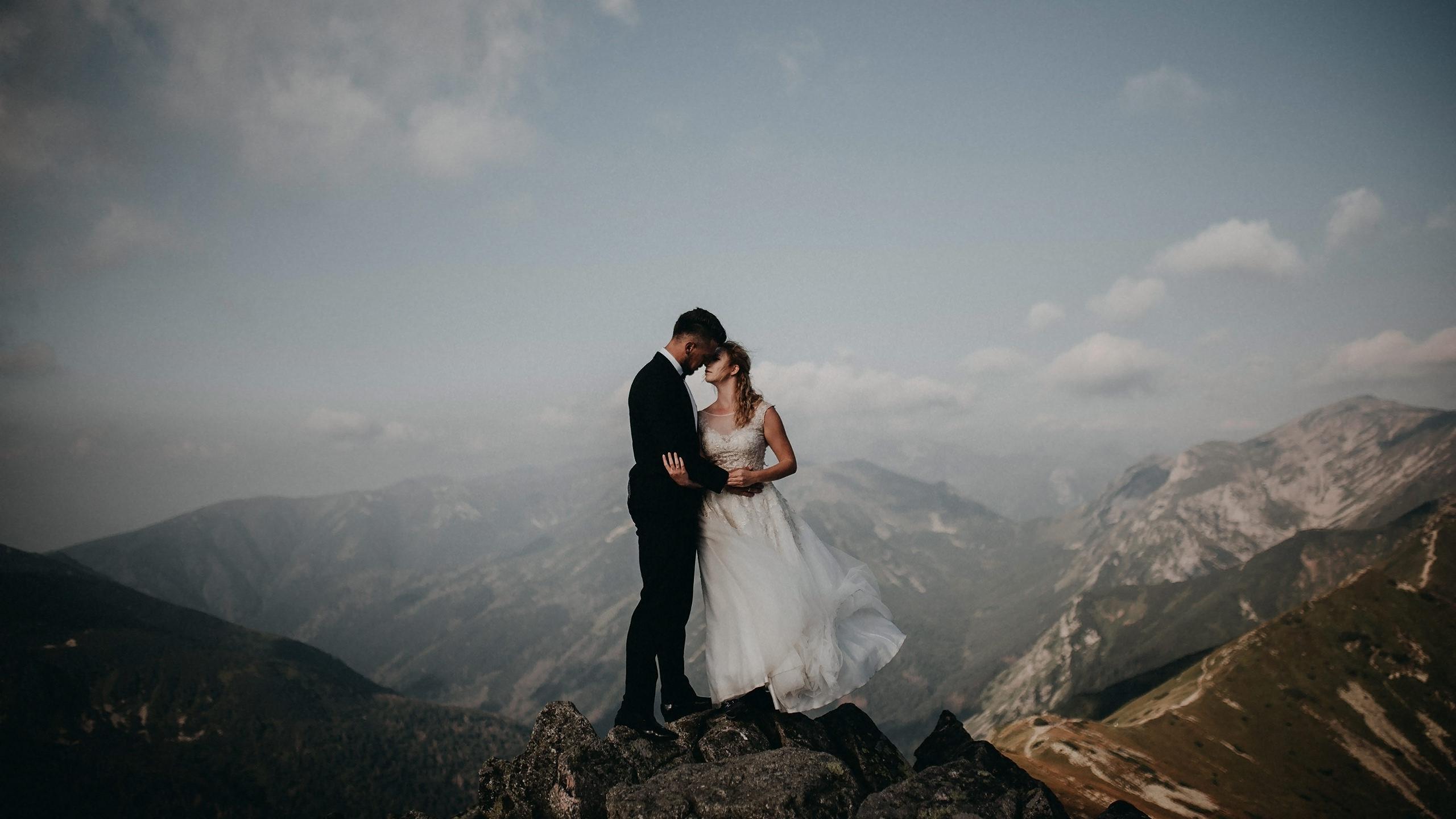 Plener ślubny na Kasprowym Wierchu – Agnieszka i Sebastian